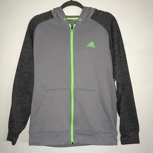 Adidas climawarm sweatshirt jacket